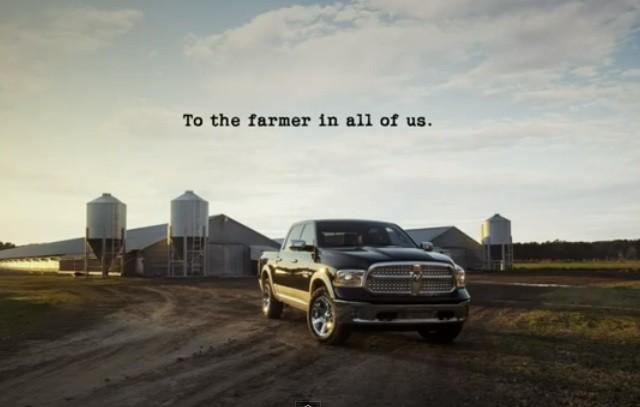So God Made A Farmer Super Bowl Ad