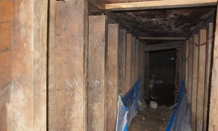 Toronto police underground Tunnel:  Who Dug Tunnel And Why