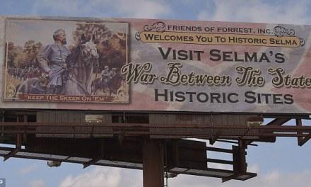 KKK Billboard Selma:  Billboard For KKK Sparks Outrage