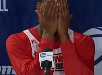 """Nigel Hayes Gets Embarrassed After Hitting On 43-Year-Old: """"God, she's beautiful,"""" (VIDEO)"""