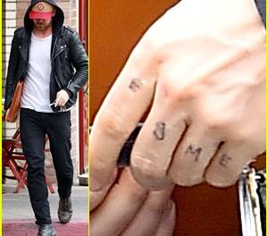 Ryan Gosling daughter tattoo:  Actor Gets New Tat