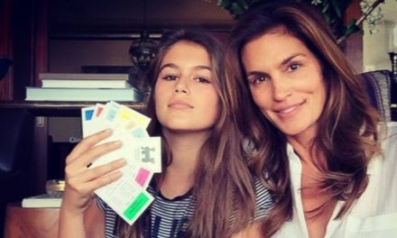 At 13 Kaia Gerber Signs Modeling Contract: See Cindy Crawford's Look-Alike Daughter