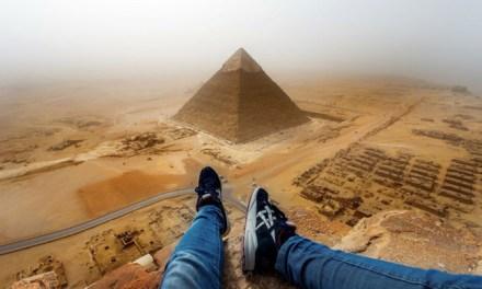 German teen Great Pyramid climb took just eight minutes