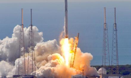 SpaceX Rocket Landing Fails (PHOTO)