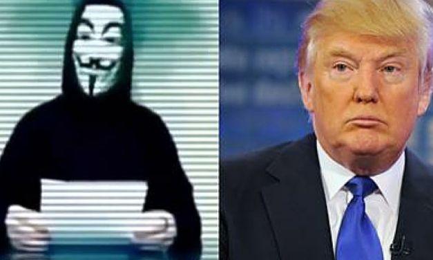 Anonymous Donald Trump:  Hacker Group Declares War On Donald Trump UPDATE