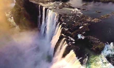 victoria falls nat geo 360:  See Amazing Breathtaking View (VIDEO)