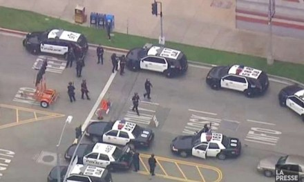 ucla shooting on campus leaves two dead:  Police search for Suspect