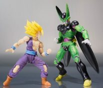 SH Figuarts Premium Color Edition Perfect Cell and Battle Damage Gohan