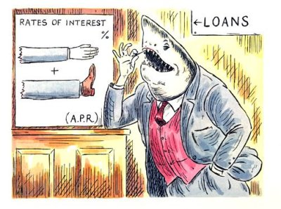 Loan Sharks need stopping! - Derbyshire Community Bank