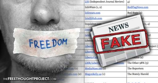 Dear America, the 'Fake News' List Will Slaughter Freedom of Press — and It's Everyone's Fault Fake-news-list-press