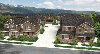6-Pack Cluster - 10 single family homes per acre