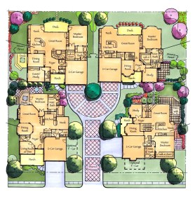 Courtyard Cluster Homes