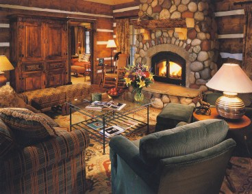 Typical Cabin Living Area