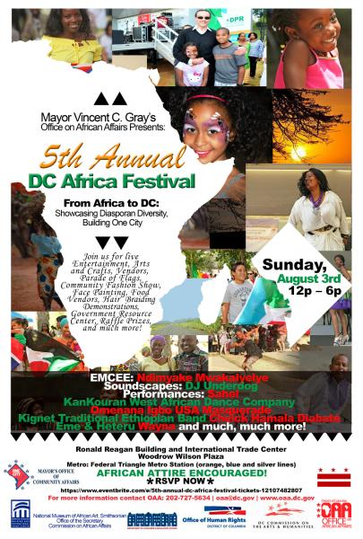 5th Annual DC Africa Festival