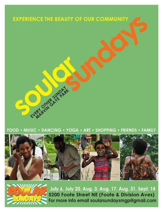 Soular Sunday Flyer