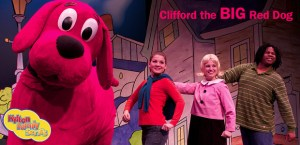 Clifford The Big Red Dog Live -Banner
