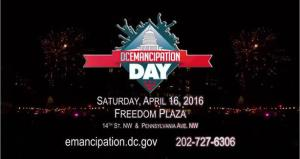 DC Emancipation Day 2016 Banner