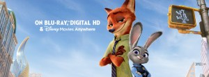Zootopia available for home entertainment -banner