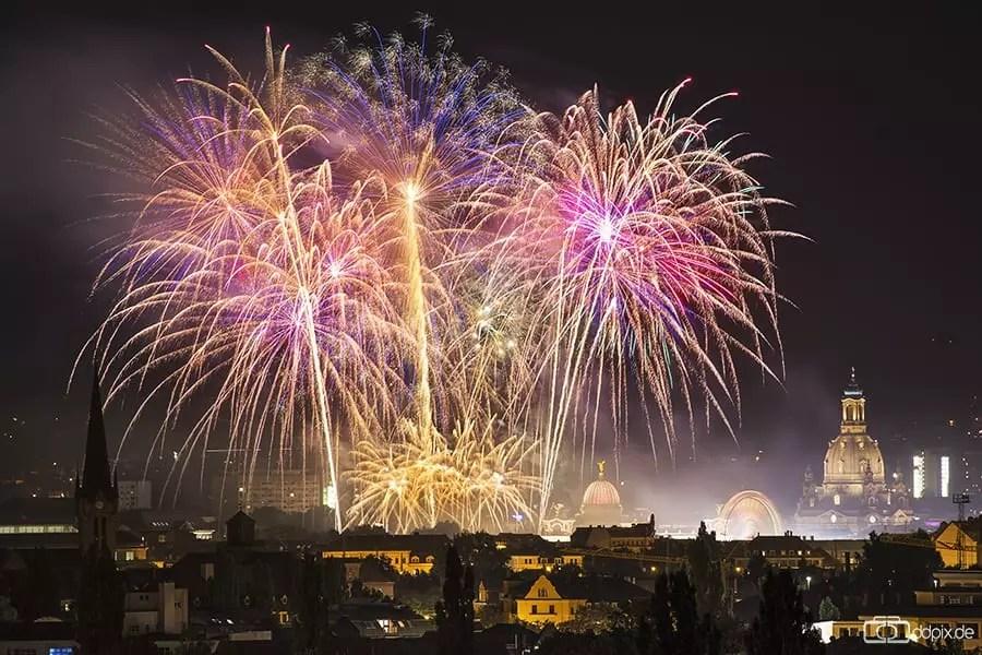 Feuerwerk fotografieren - Tipps und Tricks
