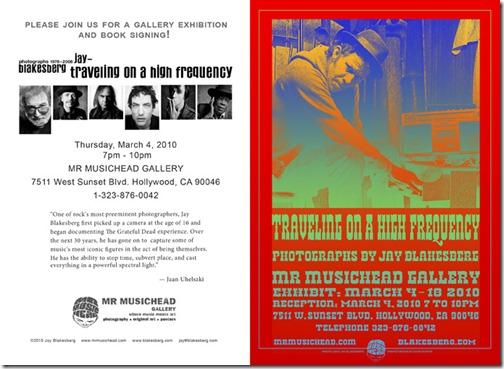 Photographs by Jay Blakesberg on Exhibit