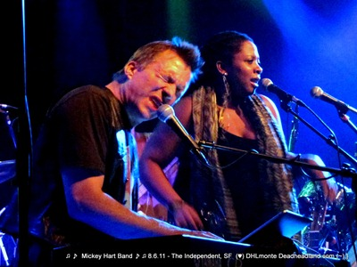 Tim Hockenbery & Crystal Monee Hall - Mickey Hart Band