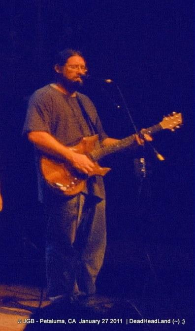 Dave Hebert (Dave A'Bear) JGB Band - McNear's Mystic Theatre Petaluma CA Jan. 27, 2012