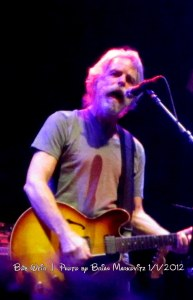 """Bob Weir singing """"The Wheel""""  1.1.2012"""