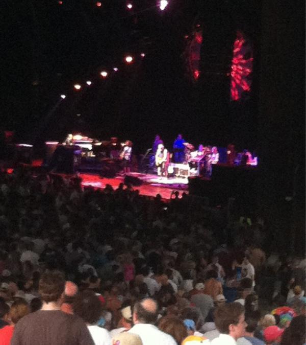 SETLIST: Furthur, Mann Center, Philadelphia PA,July 7, 2012