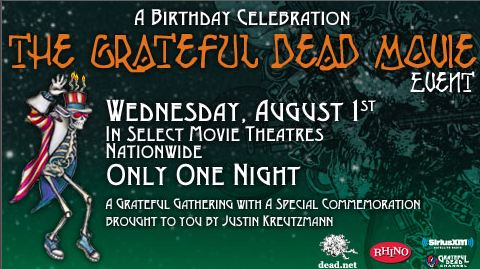 Jerry Garcia 70th Birthday Celebration: Grateful Dead Movie Event