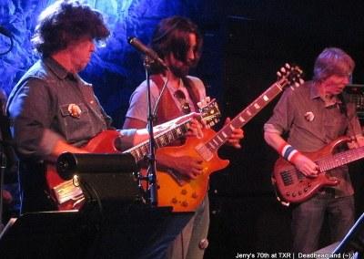 Mark Jackie and Phil - Jerry Garcia's 70th Birthday at TXR  Deadheadland (~);} (4)