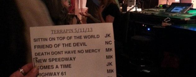 Setlist: Turtle Rock II at Terrapin Crossroads, Phil Lesh, Mark Karan, Jeff Chimenti, 