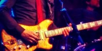 ALO's Lebo plays Jerry Garcia's Wolf guitar at San Francisco Fillmore