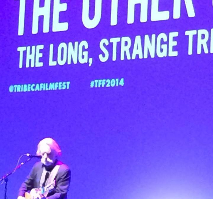 Weir Everywhere Department: Bob Weir performs at Tribeca Film Festival