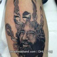 INK ME SWEET AND DEEPLY DEPT:  Best Jerry Garcia Tattoos