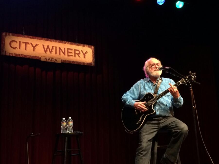 SETLIST: Robert Hunter,  City Winery, Napa Valley CA, Friday November 28th 2014