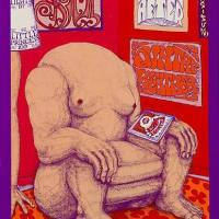 POSTER FROM THE PAST:  Spirit & Ten Years After The Fillmore March 6-9, 1969 - remembering Alvin Lee 2 years after