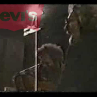 "VIDEO ""Grateful Dead's Jerry Garcia & David Nelson working on a Levi's commercial"" 1987"