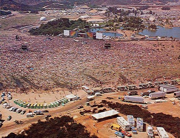 """Watch """"THE GRATEFUL DEAD at US FESTIVAL 9.5.1982 – CHINA CAT SUNFLOWER-I KNOW YOU RIDER """" on YouTube"""