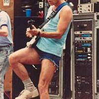 """Daily @Deadimages - Grateful Dead, May 6, 1989 Frost Amphitheatre in Palo Alto, CA. The band was playing """"Jack Straw""""."""