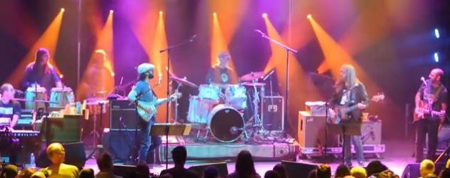 """VIDEO: """"He's Gone > Deal"""" Billy And The Kids with Al Schnier and Vinnie Amico of moe.  #DearJerryConcert PreParty @9:30 Club Washington DC"""