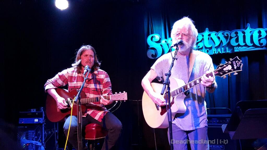 Lukas Nelson, Bob Weir, Grahame Lesh, Jason Crosby, Greg Loiacono, Grateful Bluegrass Boys for Music Heals International at Sweetwater