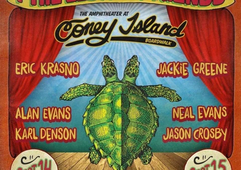 JUST ANNOUNCED: Phil Lesh & Friends Coney Island September 2016,  ft. Jackie Greene, Eric Krasno, Alan Evans, Neal Evans, Karl Denson, Jason Crosby, and The Shady Horns