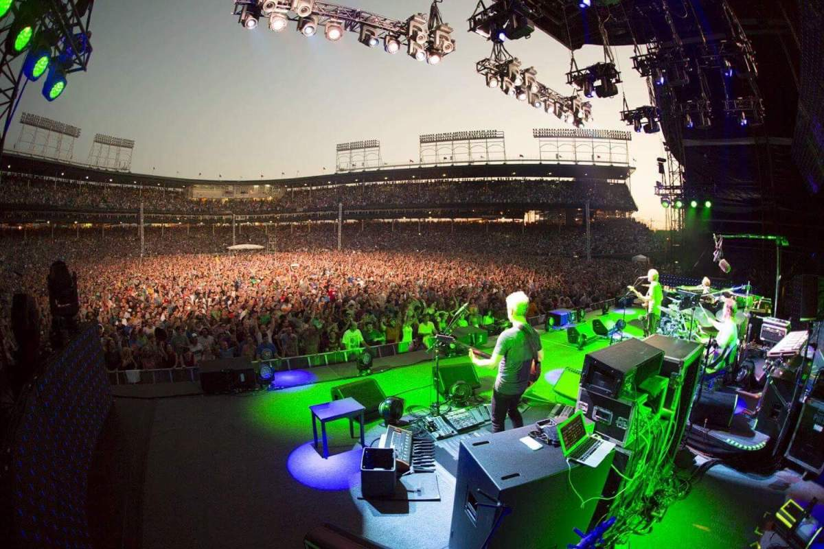 SETLIST Phish , Summer Tour 2016 | Wrigley Field Chicago, IL June 25 2016