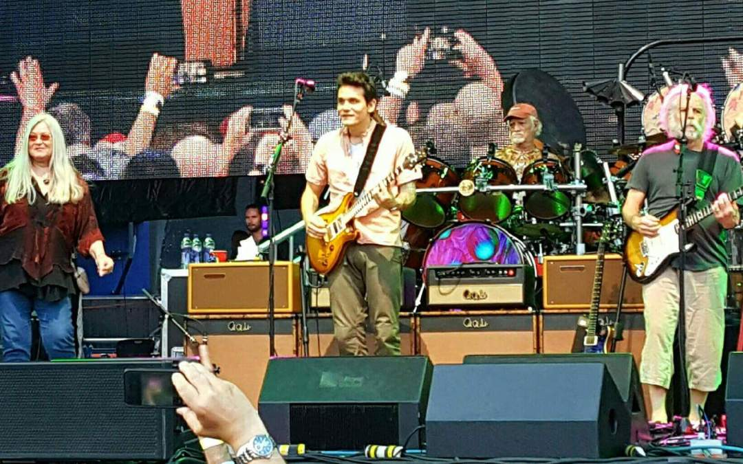 Donna Jean Godchaux-MacKay joined Dead and Company again, Citi Field, New York