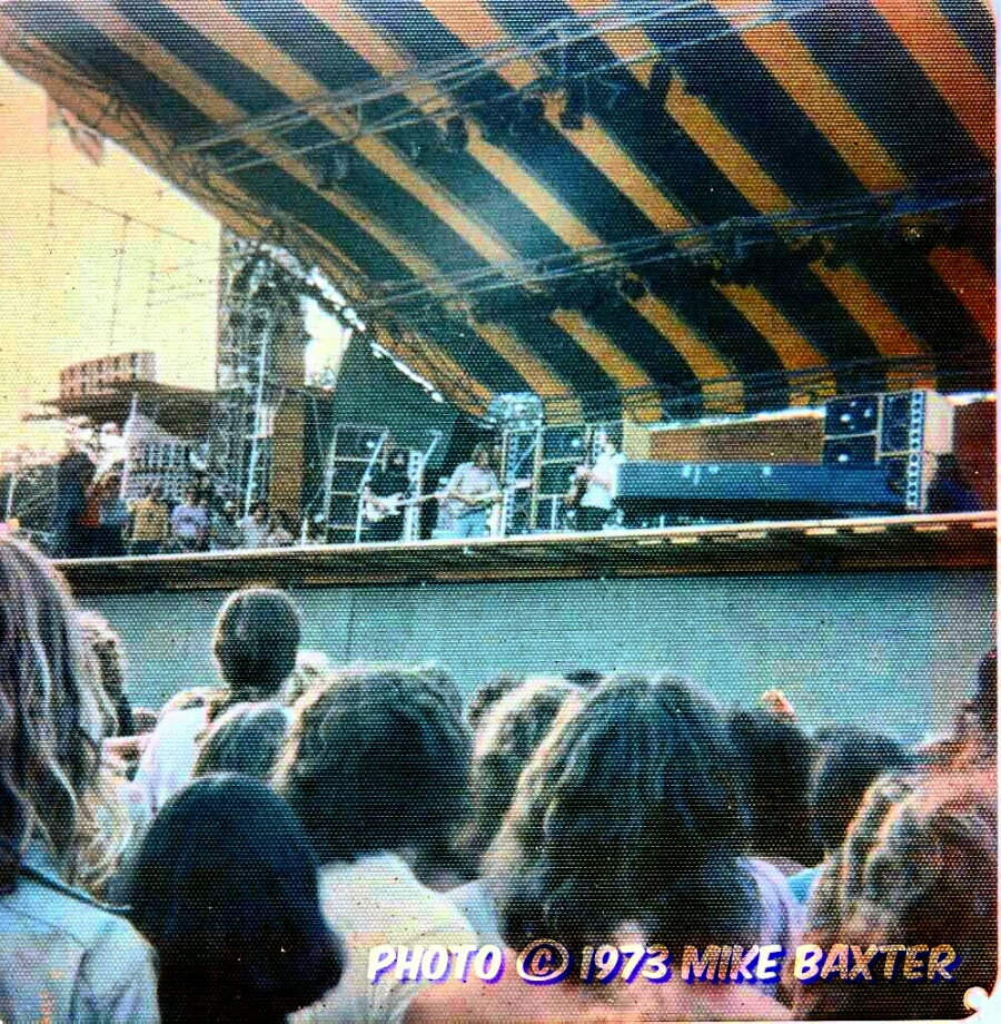 Rare Fan Snap! Grateful Dead 7.27.1973 Watkins Glen soundcheck photo 📷