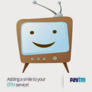 Paytm- Get Rs.100 cashback on DTH Recharge of Rs 500