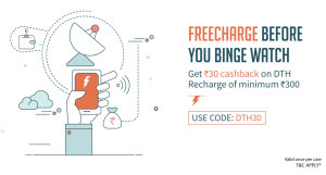 freecharge-get-rs-30-cashback-on-rs-300-dth-recharge