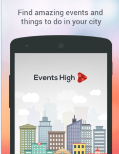 eventshigh find amazing events refer and earn