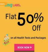1mg Labs – Get Flat 50% off on Lab tests and Health checkup packages on Transaction via Paytm