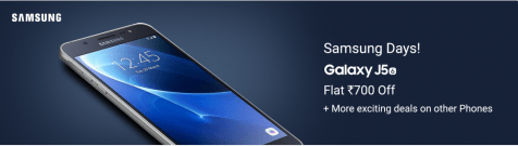 Flipkart Samsung Days Sale- Buy Samsung Phones At High Discounts